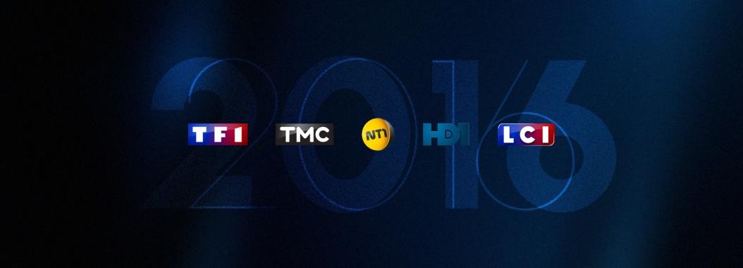 Audiences 2016 : le groupe TF1 leader de la TV depuis septembre