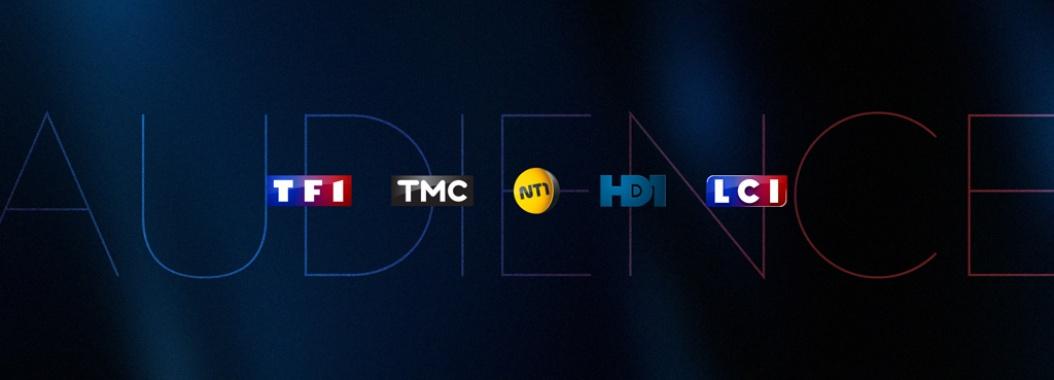 Audiences TF1 TMC NT1 HD1 LCI TNT