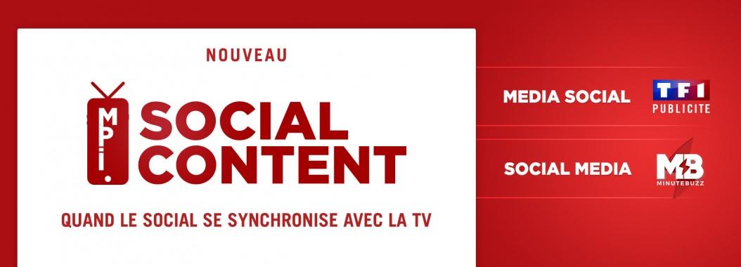 MPI Social Content : quand le Social se synchronise avec la TV