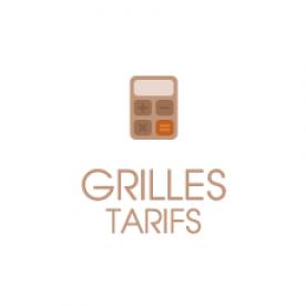 Grilles des tarifs