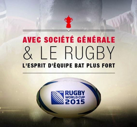 Best case Société Générale Coupe du Monde de Rugby 2015