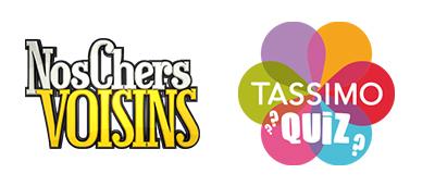 Logos Nos chers voisins - Tassimo Quiz